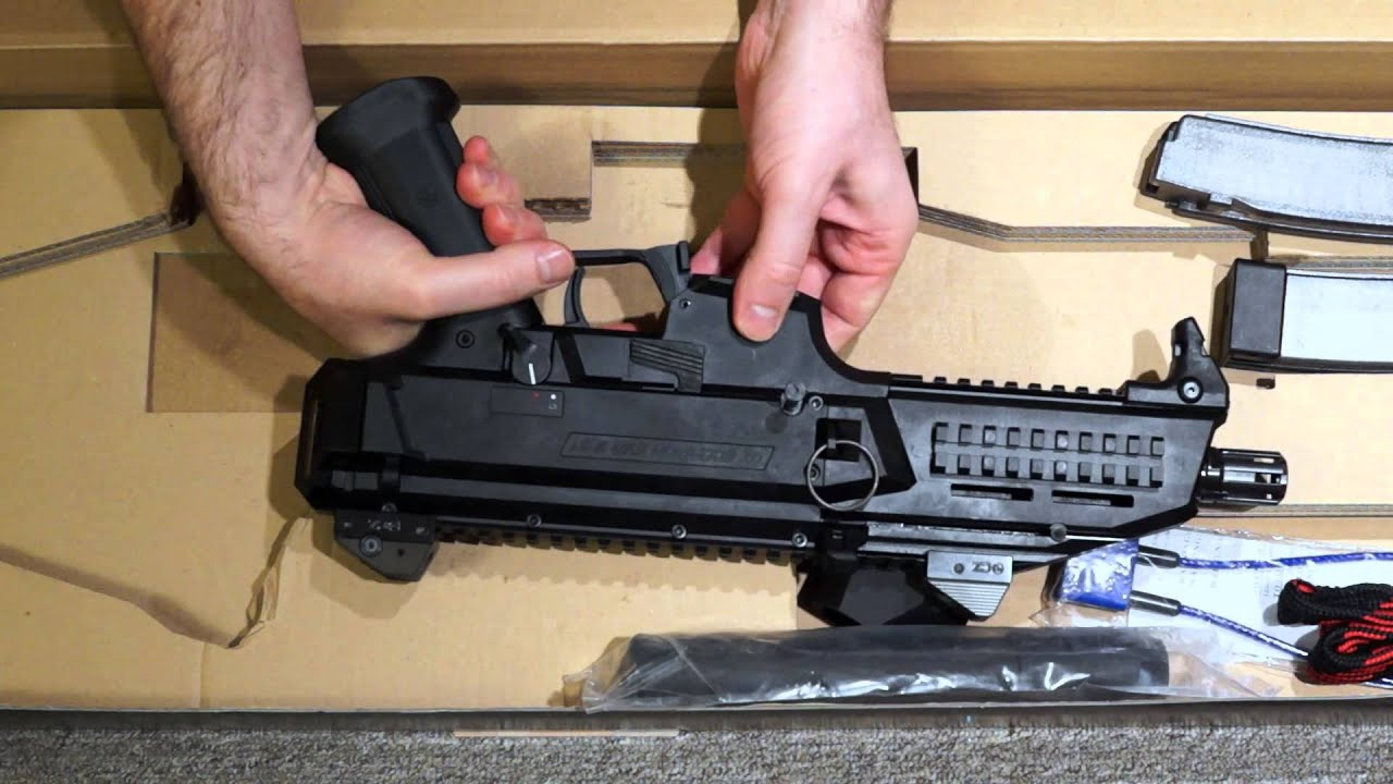 Gun Review: CZ Scorpion EVO 3 S1 Pistol - The Truth About Guns