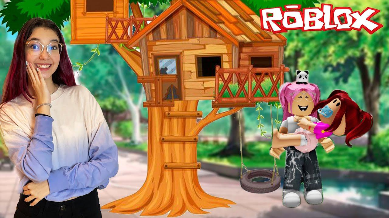 Roblox - FOMOS MORAR em UMA CASA NA ÁRVORE no Twilight Daycare | Família Luluca