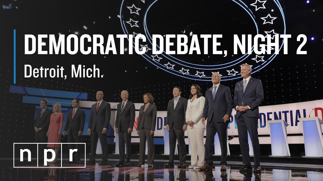 NPR Politics: Analysis After Night 2 of Second Democratic Debate