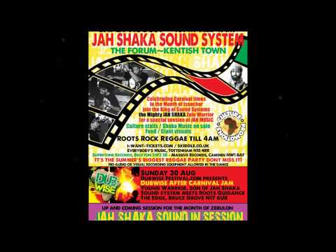 JAH SHAKA AT THE FORUM - 29 AUG 2015 - CARNIVAL SPECIAL