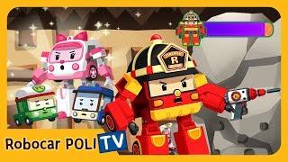 POLI Game | Break the Concrete! | for Kids | Robocar POLI
