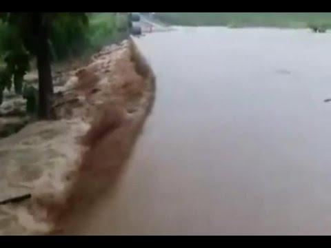 ฝนถล่มน่าน-ตากหนัก บ้านเรือนปชช.จมบาดาล
