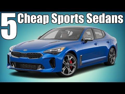 5 Cheap Modern Sports Sedans! $10K-$40K