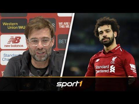 Jürgen Klopp 'entschuldigt' sich bei 50-Tore-Salah | SPORT1