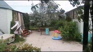 Азовское море Кирилловка Федотова коса база отдыха