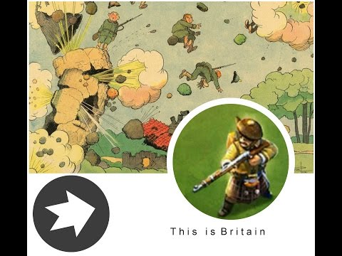 Здесь слепые не ходят, это Британцы !!! Обзор нации DomiNations Tarasella's Battle