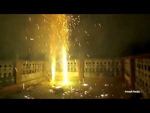 Diwali 2017 FireWorks Show | Nonstop FireWorks Burst Show n Sound in Air & Land | The Crackers Mail.