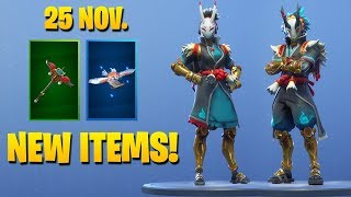 *NEW* TARO & NARA SKINS *EPIC* ! Fortnite Battle Royale Item Shop November 25