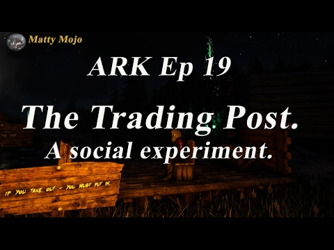Social experiment in ARK.  Are people good, or bad, or somewhere inbetween.  I put it to the test.