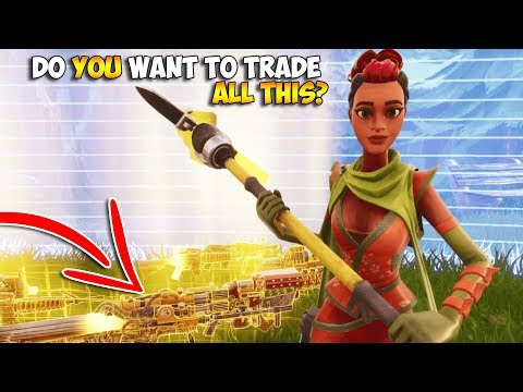 I Said YES To EVERY TRADE in Fortnite Save The World 😳