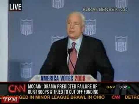 John McCain Speech To American GI Forum In Denver, CO