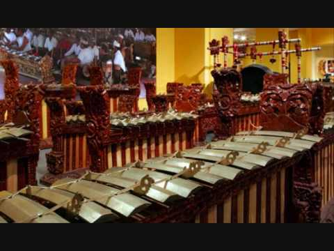 Gamelan music of indonesia