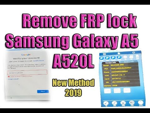Remove FRP lock /unlock or reset Google Account   Samsung