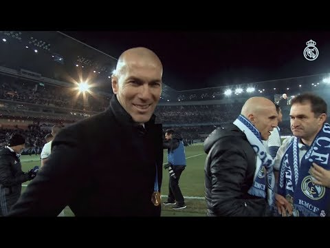 Zinedine Zidane, 100 matches as Real Madrid coach!