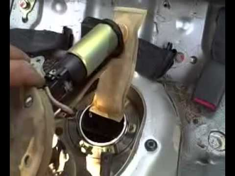Replacing 2000 Honda Civic Fuel Pump  YouTube
