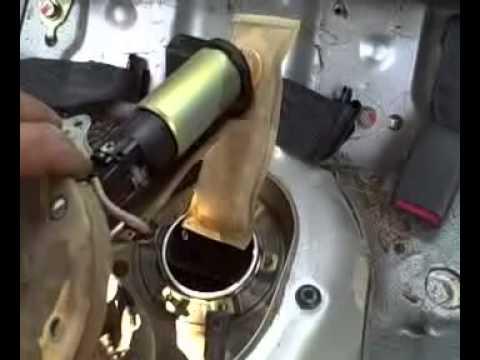 Replacing 2000 Honda Civic Fuel Pump  YouTube