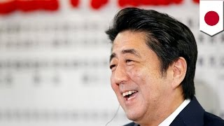 Japan PM Shinzo Abe's political party wins house majority in sudden electoral vote