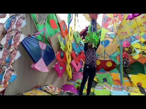 Makar Sankranti or Uttarayan Indian festival of kites Latest Video 2017