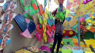Makar Sankranti or Uttarayan Indian festival of kites Latest Video 2017