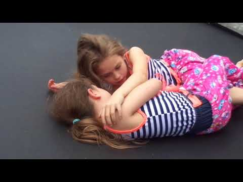 CRAZY & FUNNY ANNIE & ALLIE - TWIN CUTENESS, GYMNASTICS , DANCING (LOTS OF NEW FOOTAGE!)