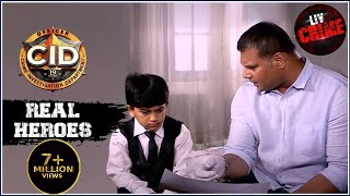 The Riddle Behind Child's Drawing | सीआईडी | Real Heroes