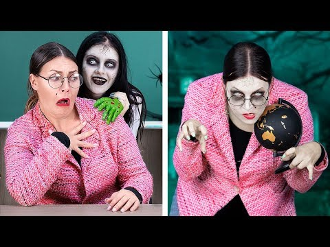 Zombie At School! / 11 DIY Zombie School Supplies