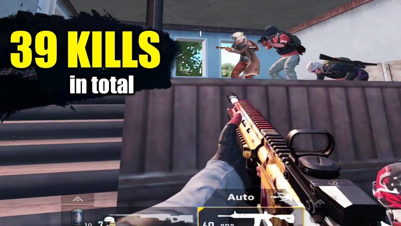 NIE DIESES FEHLER TUN | 39 KILLS Duo gegen Kader | PUBG Mobile + video