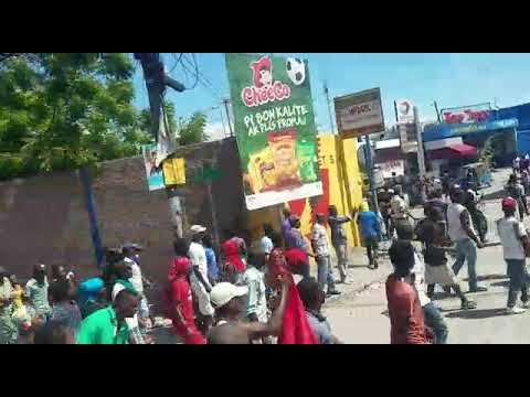 17 octobre 2018 Manifestation a Port au Prince