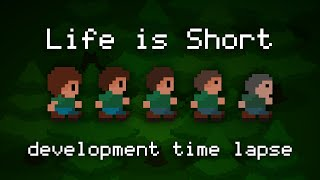 Life is Short: 48 hour game dev time lapse