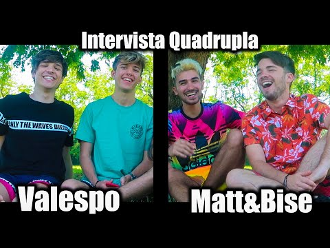 INTERVISTA QUADRUPLA VALESPO - MATT&BISE