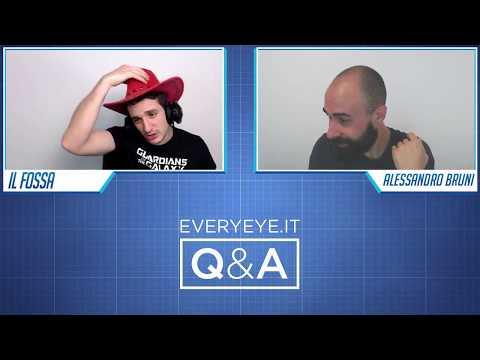 Q&A - Domande e Risposte con Fossa e Ale - Everyeye.it Live Streaming