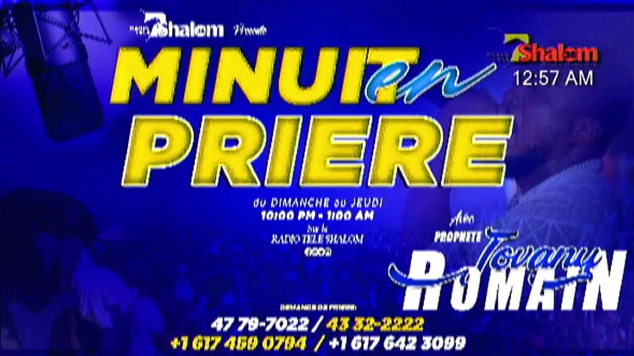 Download Minuit En Prière Radio Tele Shalom Haiti En Direct | 23 Septembre 2021