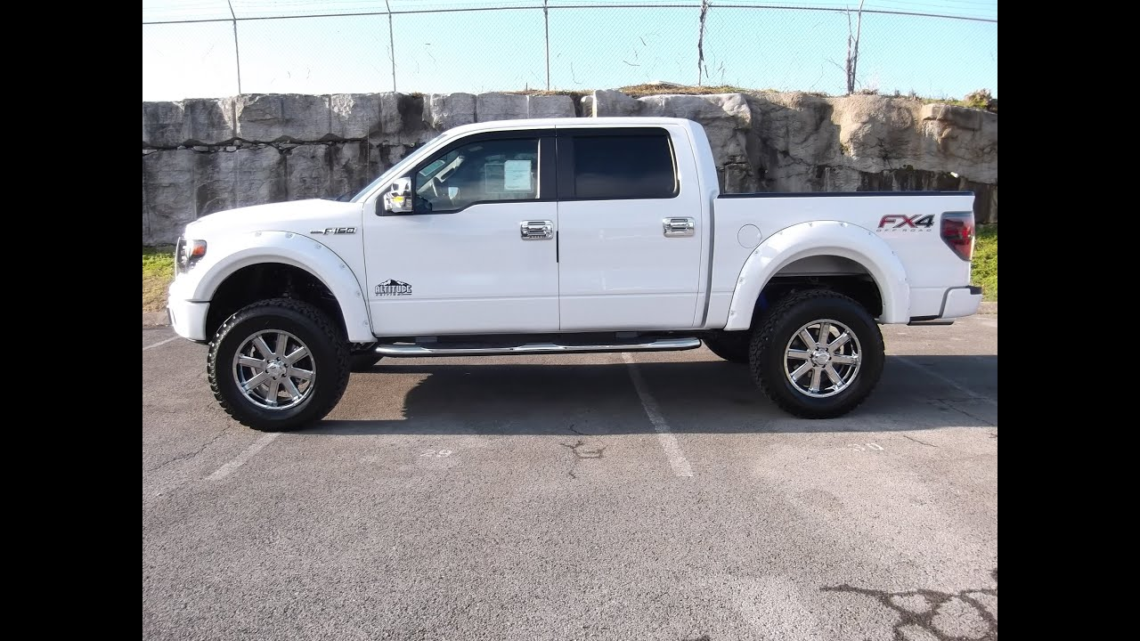 6 procomp lifted 2013 ford f 150 supercrew fx4 402a package rocky ridge 50 v 8 call 888 439 1265 youtube - White Ford F150 Lifted