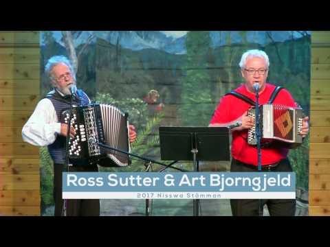 Art Bjorngjeld and Ross Sutter perform at Nisswa-stämman 2017
