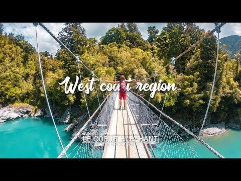 West coast région - Nouvelle Zélande
