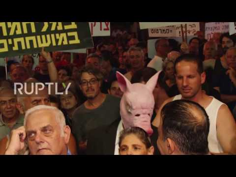 Israel: Protesters call on Attorney-General to indict Netanyahu