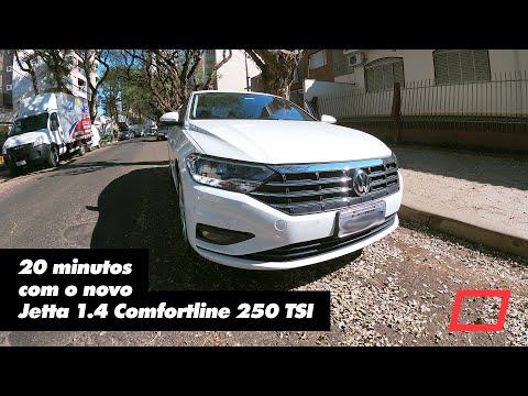 20 minutos com o novo Jetta 1.4 Comfortline 250 TSI