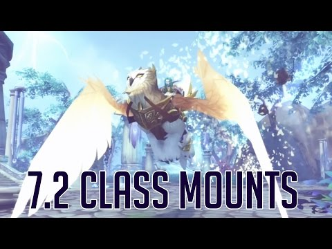WoW Class Mounts | Coming in 7.2