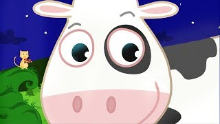 Hey Diddle Diddle The Cat And The Fiddle | Hey Diddle Diddle Lullaby Song Loop thumbnail
