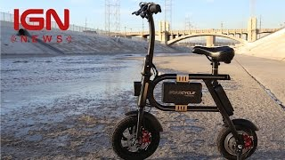 Swagtron Brings New Hoverboards, Electric Bikes, and More to CES - IGN News