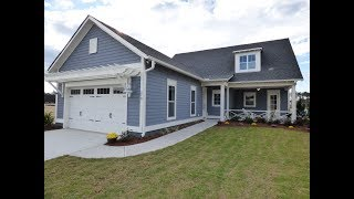 New Greenwood Model Cottage Home at Crystal Lake By Logan Homes In Hampton Lake in Bluffton SC