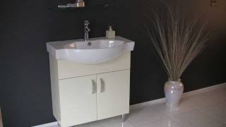 Fresca Verita 30 Modern Bathroom Vanity w/ Medicine Cabinet & Ceramic Sink - FVN5077BG