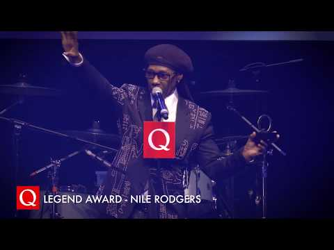 """""""We gotta do the black version of that sh*t!"""" Nile Rodgers collects his Q Legend Award! Mp3"""