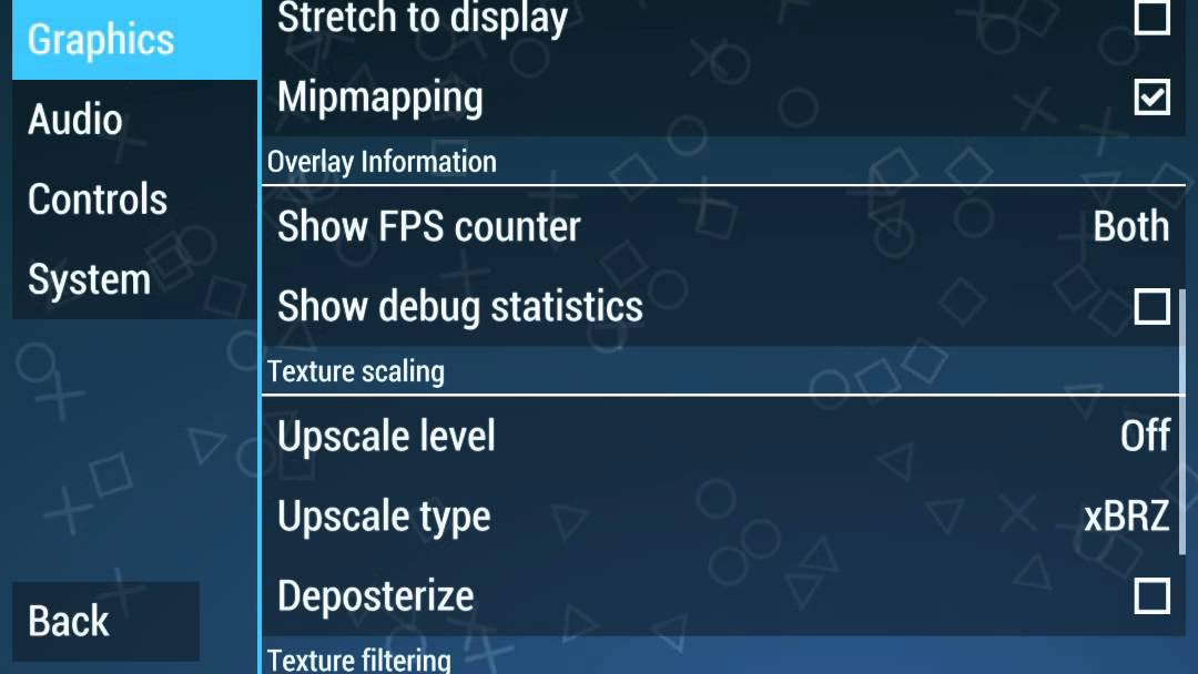 My Settings For Ppsspp 0 9 1 Best Performance Youtube