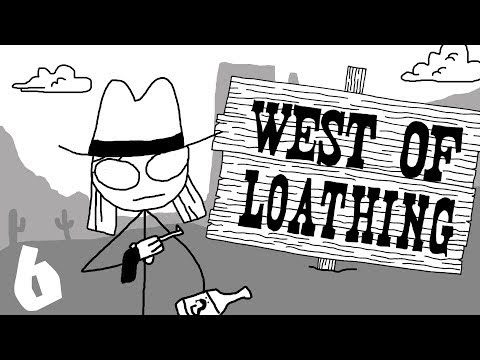West of Loathing - 6 - Fort Cowardice and Spiders (West of Loathing Gameplay)