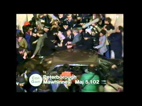 1979 Election Night: Montage of Margaret Thatcher's appearances