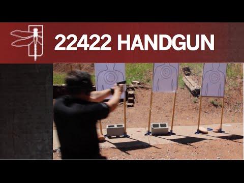 22422 HANDGUN SPEED DRILL