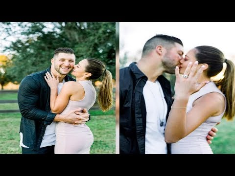 Tim Tebow Is Engaged to Former Miss Universe Demi-Leigh Nel-Peters: 'I'm Really Blessed'  - News Tod