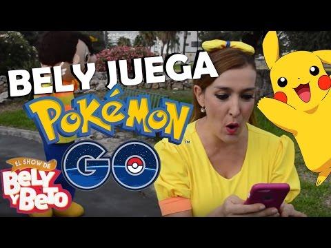Bely Juega Pokemon Go  El  de Bely y Beto