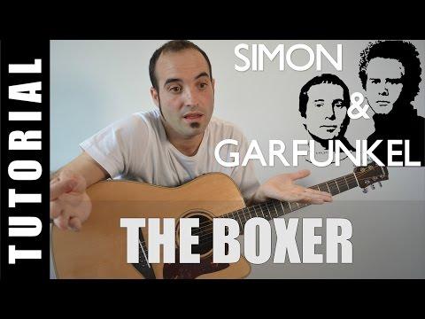 How to play The Boxer - Simon & Garfunkel EASY Tutorial CHORDS and LYRICS, TABS